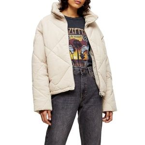 NWT Topshop Puffer Jacket